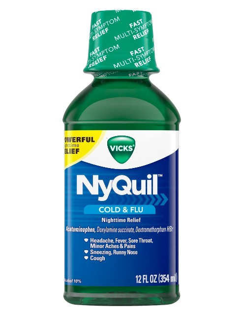 Vicks NyQuil Nighttime Relief