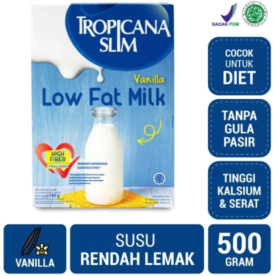 Tropicana Slim Susu Low Fat Vanilla